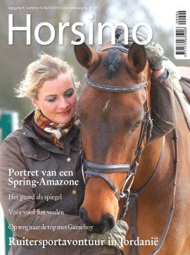 Horsimo. Het snelst groeiende paarden- en ponytijdschrift van Nederland.