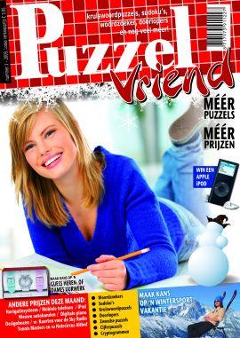 Puzzel Vriend. Puzzel Vriend is het leukste en dikste puzzelblad van Nederland.