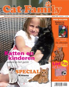 CatFamily. Als je van katten houdt dan moet je dit magazine in huis hebben. Miauw !