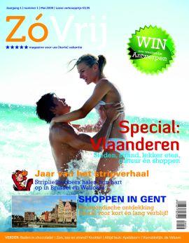ZoVrij. 5 sterren tijdschrift voor uw (korte) vakantie en/of weekendje weg.