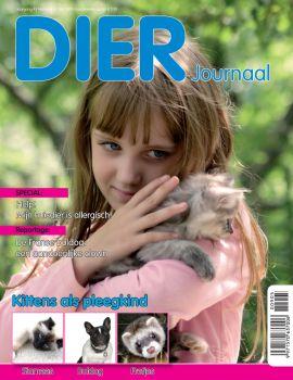 Dier Journaal. Kleurrijk tijdschrift voor de echte dierenliefhebber.