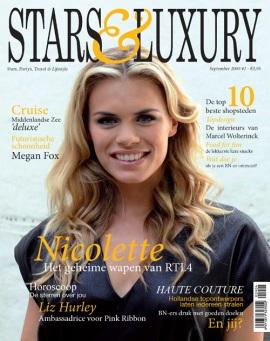 Stars en Luxury. Het magazine waar je ziet hoe de sterren leven en waar ze het aan uitgeven...